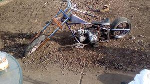Custom Minnie bike chopper Black Widow design 125cc for Sale in Tacoma, WA