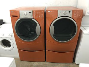KENMORE WASHER AND DRYER (3 MONTHS WARRANTY) for Sale in Hialeah, FL