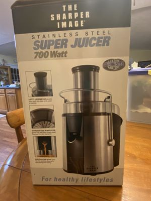 The Sharper Image Stainless Steel Super Juicer for Sale in Lumberton, NC
