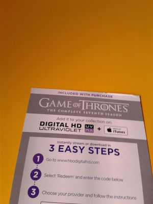 Game of Thrones (Season 7) for Sale in Los Angeles, CA