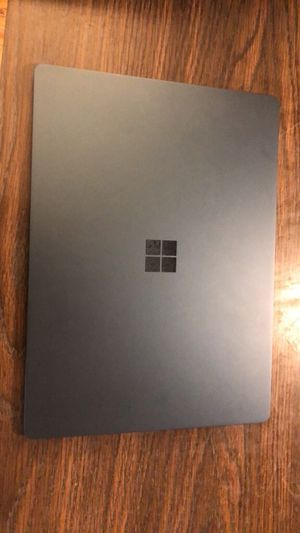 Microsoft surface laptop cobalt blue ssd 256gb 8 gb ram 13.6 touchscreen for Sale in Hasbrouck Heights, NJ