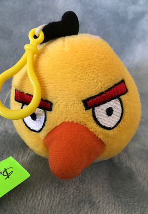 Four-inch Angry Birds stuffed animal/with clip$3 for Sale in Menifee, CA