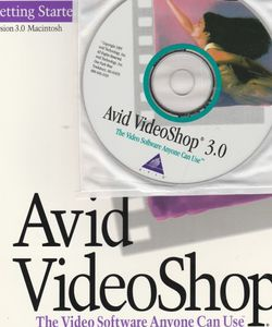 Avid VideoShop 3.0 CD-ROM with manual for MAC ~ 1995 for Sale in Acampo,  CA