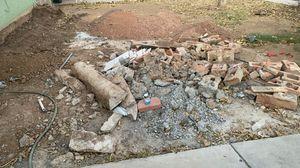 FREE dirt and brick pieces / GRATIS tierra y pedasos de ladrillo for Sale in Phoenix, AZ