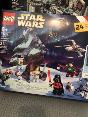 New LEGO Star Wars Advent Cal. Ugly Sweater Darth Vader. for Sale in San Bernardino, CA