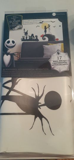 Nightmare Before Christmas Wall Decals for Sale in Federal Way,  WA