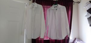 Long sleeve white dress shirts for Sale in Fresno, CA