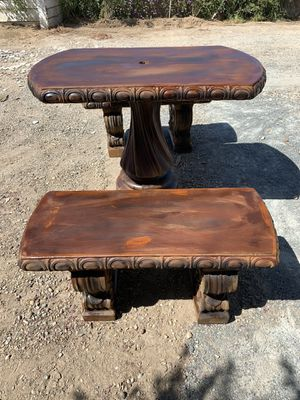 Concrete Table Set for Sale in Dinuba, CA