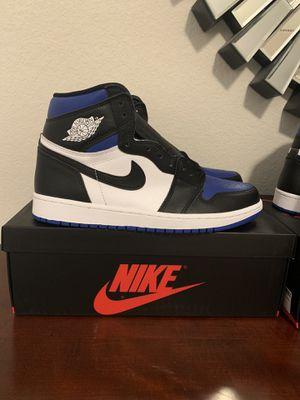 Jordan 1 royal toe size 10.5 for Sale in Sugar Land, TX