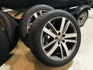 5x112 Audi Q7 275/45/20 Bridgestone Blizzak Snow tires rims wheels for Sale in Vancouver, WA