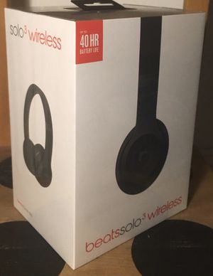 Beats solo wireless 3 for Sale in Tacoma, WA