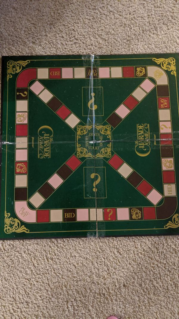 1985 Vintage Charade Game by Pressman