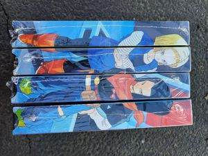 4 VHS Dragonball Z Androids Uncut for Sale in Rancho Cordova, CA