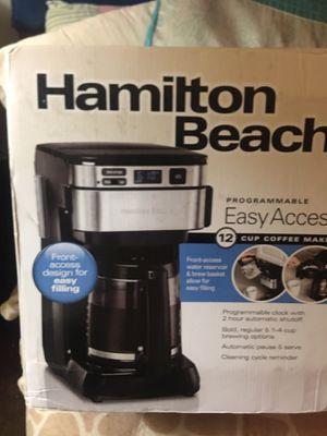 NEW COFFEE MAKER (Hamilton beach) for Sale in Fresno, CA