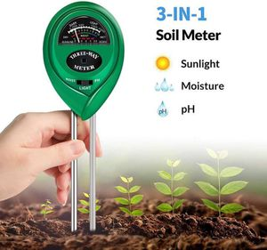 Soil Test Kit, 3-in-1 Soil pH Meter with Moisture, Light and PH Tester for Garden, Farm, Lawn, Indoor & Outdoor (No Battery Needed) for Sale in Duluth, GA
