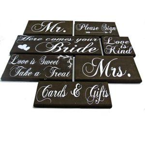 Wedding sign package for Sale in Durham, NC