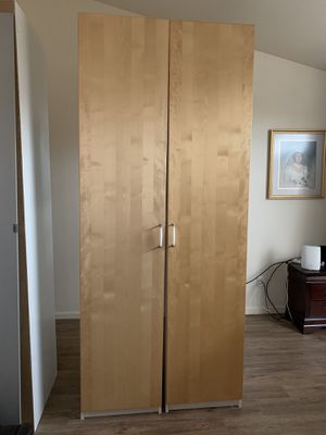 IKEA 3 piece wardrobe extra shelves and rails for Sale in Chandler, AZ