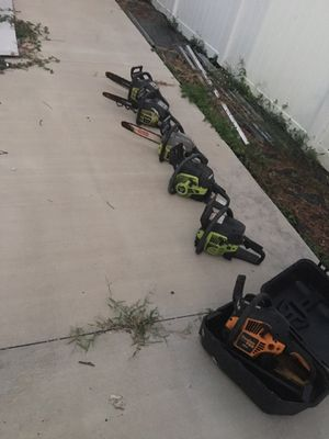 Chainsaws for sale ($250 for all) for Sale in New Port Richey, FL