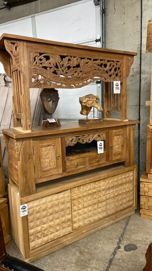 New Solid Wood (Teak) Buffets / Tv Stands / Console Tables / Entry Tables $299-$499 for Sale in Vancouver, WA