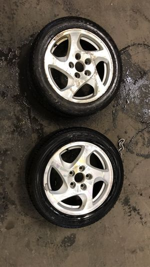 "16"" Honda Prelude rims and tires for Sale in Seattle, WA"