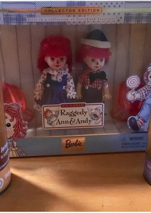 Barbie Kelly Raggedy Ann and Andy for Sale in Boca Raton, FL
