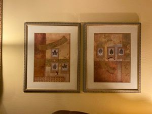 Two pictures. Abstract for Sale in Phoenix, AZ