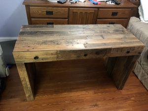West Elm Emerson Desk reclaimed wood for Sale in Washington, DC