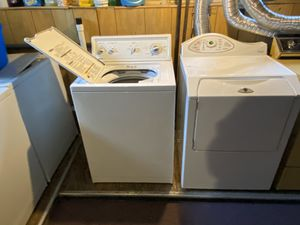 Maytag Neptune Washer/electric Dryer Set for Sale in Pawtucket, RI