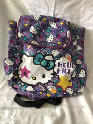 Hello Kitty Backpack-gently used for Sale in Wesley Chapel, FL
