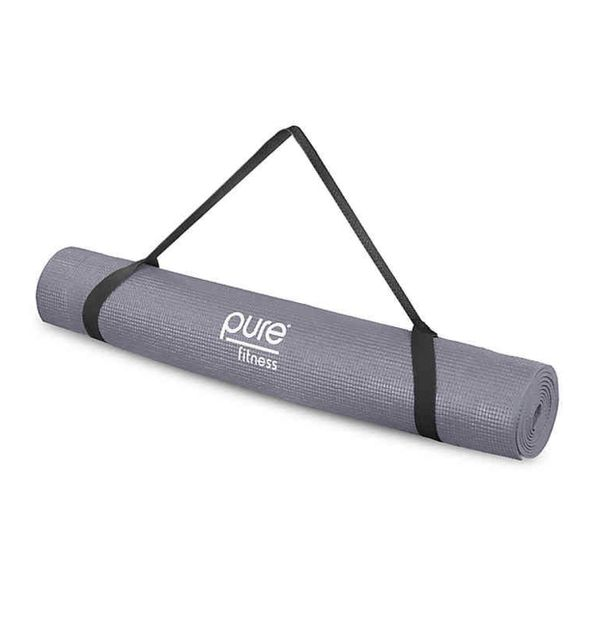 Yoga Mat Pure Fitness 3.5mm in Grey