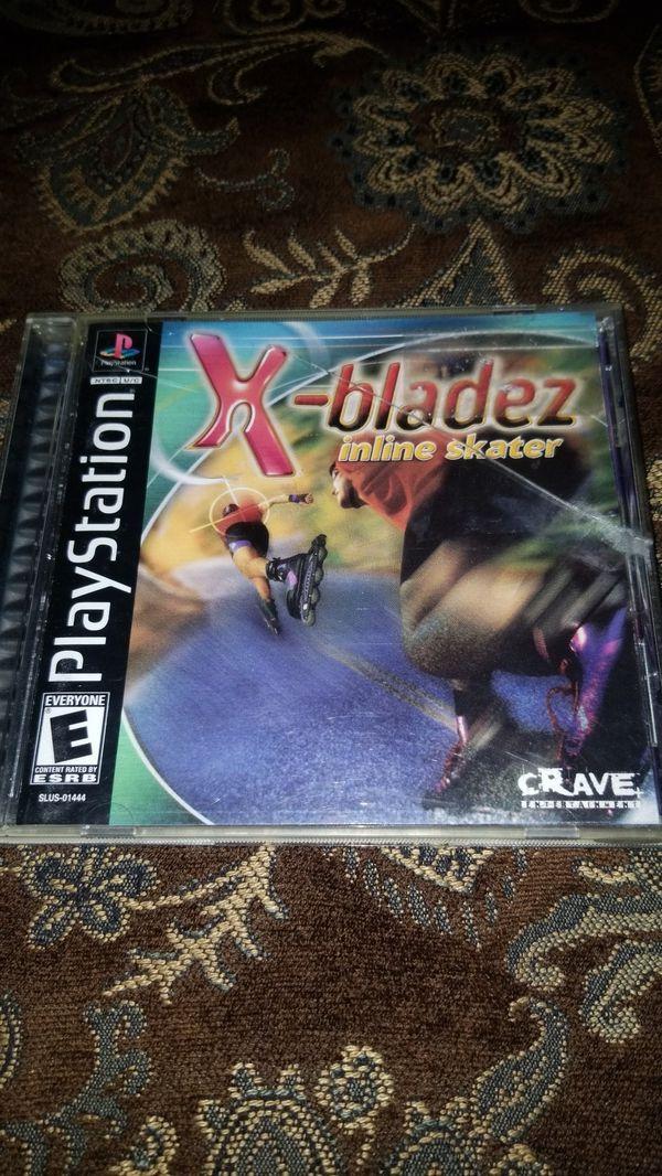 X-bladez mline skater ps1 game
