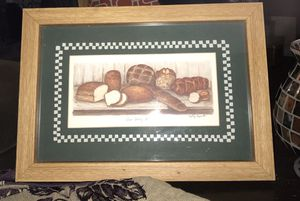 Our Daily Bread wooden framed picture for Sale in Kennesaw, GA