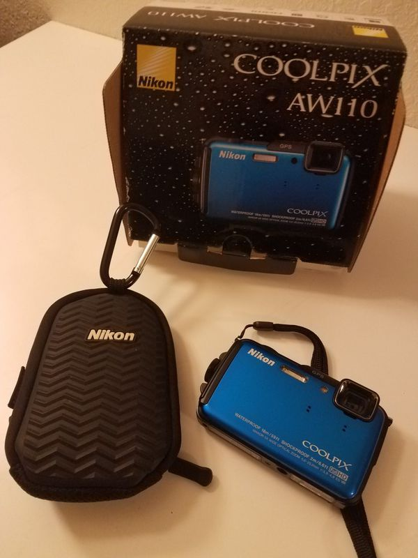 Nikon COOLPIX AW110 Digital Camera (Blue)