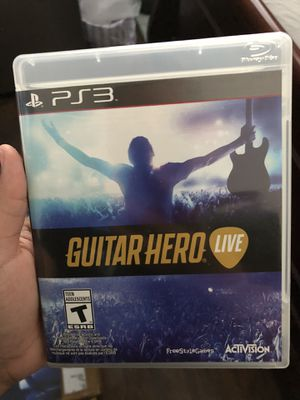 Guitar Hero Live PS3 video game for Sale in San Diego, CA