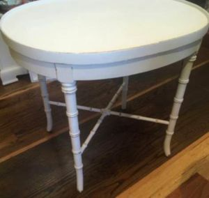 End Table / Nightstand = Tile Top with Iron Frame for Sale in Bitely, MI