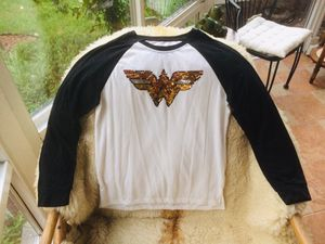 NWT Girls' WONDER WOMAN Girls' Size XL (14-16) Baseball Tee for Sale in Chicago, IL
