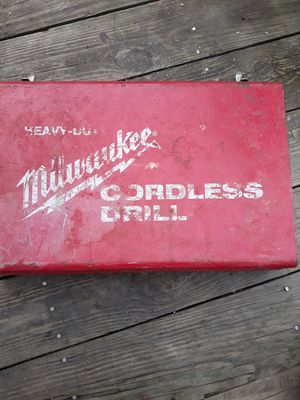 Milwaukee antique 1/2 in. Cordless drill for Sale in Cleveland, OH