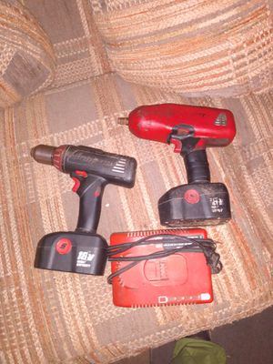 Impact,drill, two batteries, charger for Sale in Muncy, PA