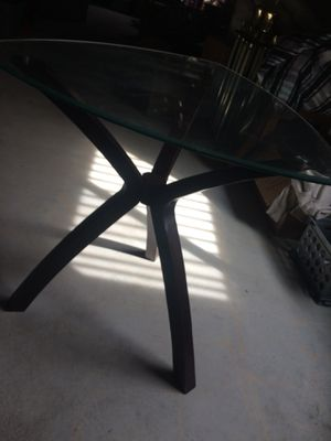 Tall glass top kitchen table for Sale in Andover, KS