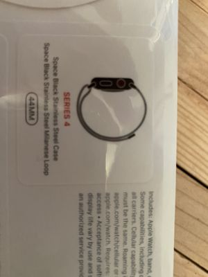 Apple Watch series 4 New 44mm stainless steal for Sale in Hayward, CA
