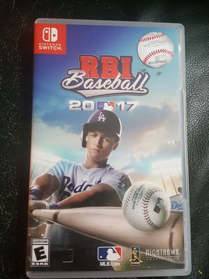 rbi baseball 2017 nintendo switch for Sale in Gaithersburg, MD