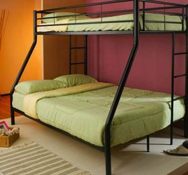 Coaster Furniture Denley Collection Black Twin/full Bunk Bed for Sale in Riverview,  FL