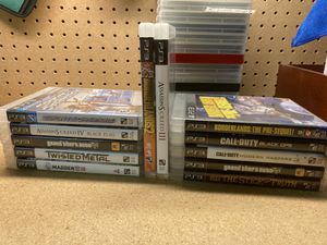 PS3 games for Sale in Jonestown, PA