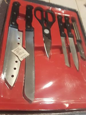 Genichi Shimado Stainless Steel Knife Set for Sale in Decatur, GA