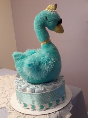Diaper cake - price reduced for Sale in Sunrise, FL