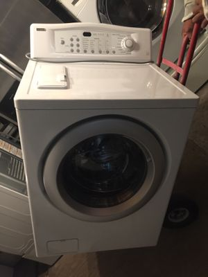 Washer and dryer set working good from load kenmore for Sale in West Palm Beach, FL