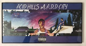 ACID HILLS MADD CITY (framed painting) for Sale in Los Angeles, CA