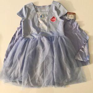 Disney Frozen Dress With Cape for Sale in Dunwoody, GA