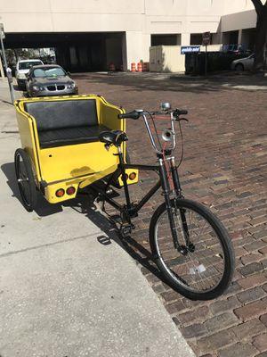 Mainstreet Classic Pedicab for Sale in Orlando, FL