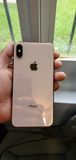 iphone xs max 256gb gold At@t for Sale in Miami, FL